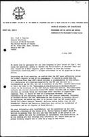 [Letter from E. Militz (WCC, Geneva) to F. Bayliss (United Church of Canada, Toronto)]