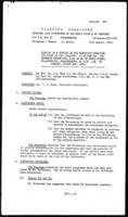 [Minutes of a meeting of the Executive Committee appointed by the Planning Committee for the December Conference, August 9, 1960]
