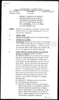 [Minutes of a meeting of the Executive Committee appointed by the Planning Committee for the December Conference, September 22, 1960]