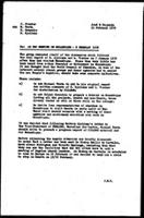 [Memorandum from J. Chipenda (WCC-PCR, Geneva) to J. Fischer, M. Testa, H. Reuschle and B. Sjollema (WCC, Geneva)] Ad hoc meeting on Mozambique - Feb. 6, 1976