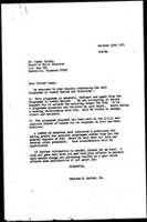 [Letter from C. Spivey (WCC, Geneva) to I. Crosby (Board of World Missions, Nashville)]