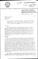 [Letter from W. Schot (WCC, Geneva) to P. Thinme, Bielefeld]