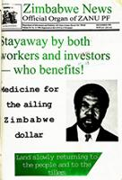 Zimbabwe News, Vol. 29, No. 11