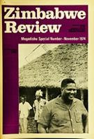 Zimbabwe Review, Vol. 3, Mogadishu Special Number, Nov. 1974