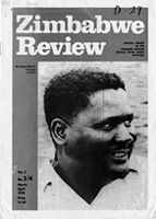 Zimbabwe Review, Vol. 2, No. 3/4, 1970