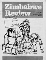 Zimbabwe Review, Quarterly Edition, July 1973